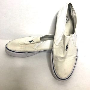 Polo Ralph Lauren Slip on Shoes AS IS